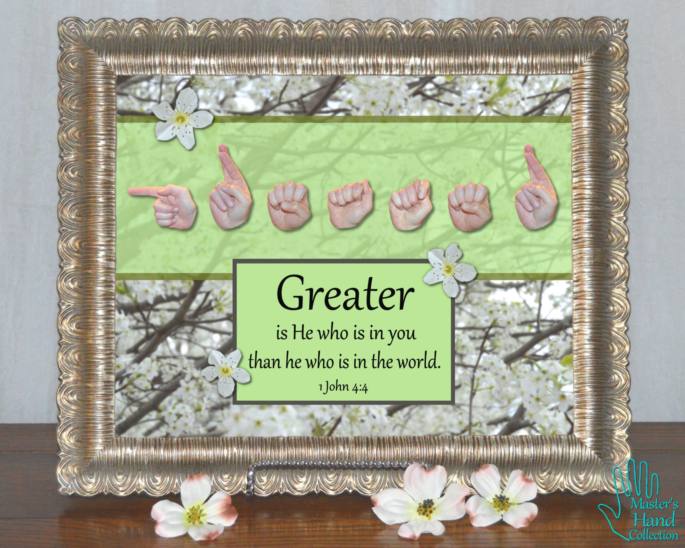 Greater Is He Printable Art
