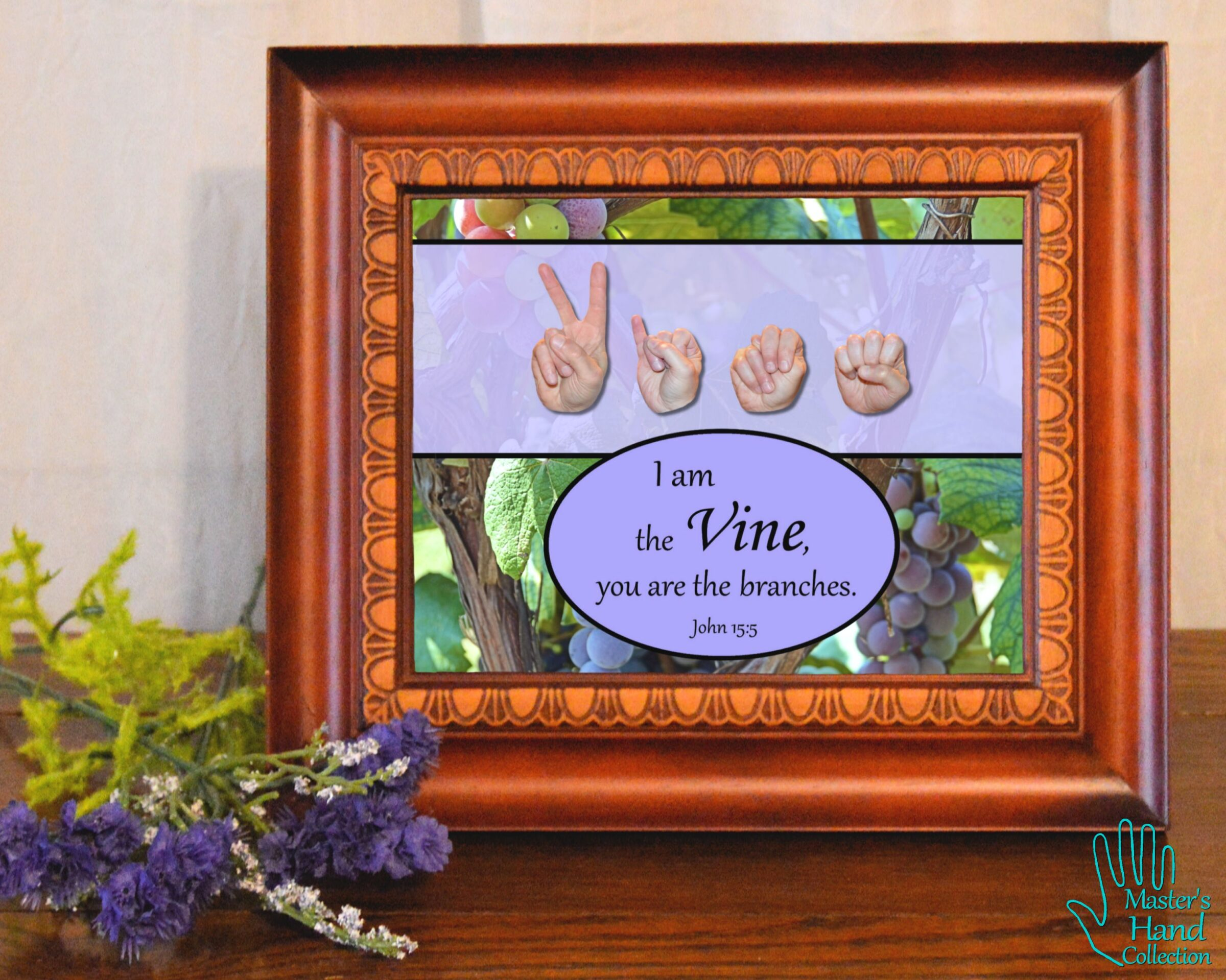 I am the Vine Printable Art