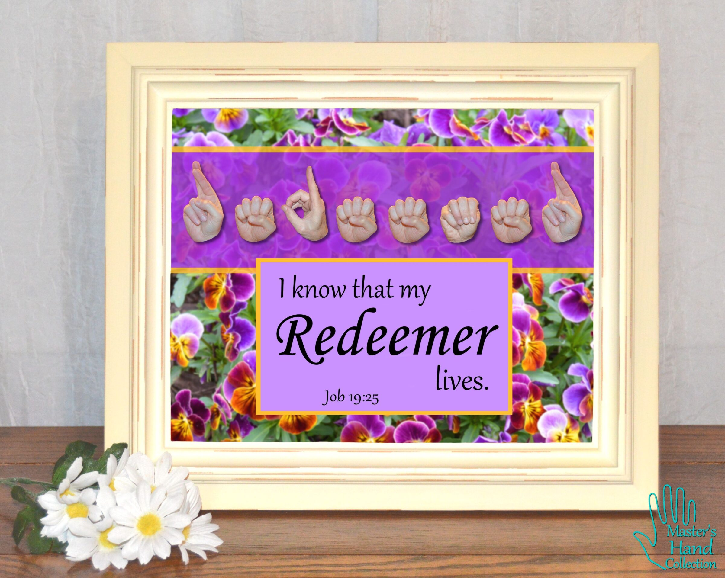 My Redeemer Lives Printable Art
