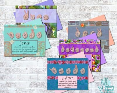 Names of Jesus Collection Printable Cards