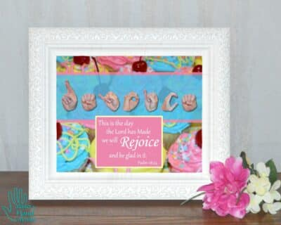 Rejoice and Be Glad Printable Art