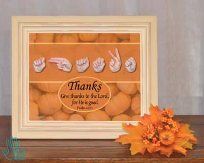 Give Thanks Printable Art