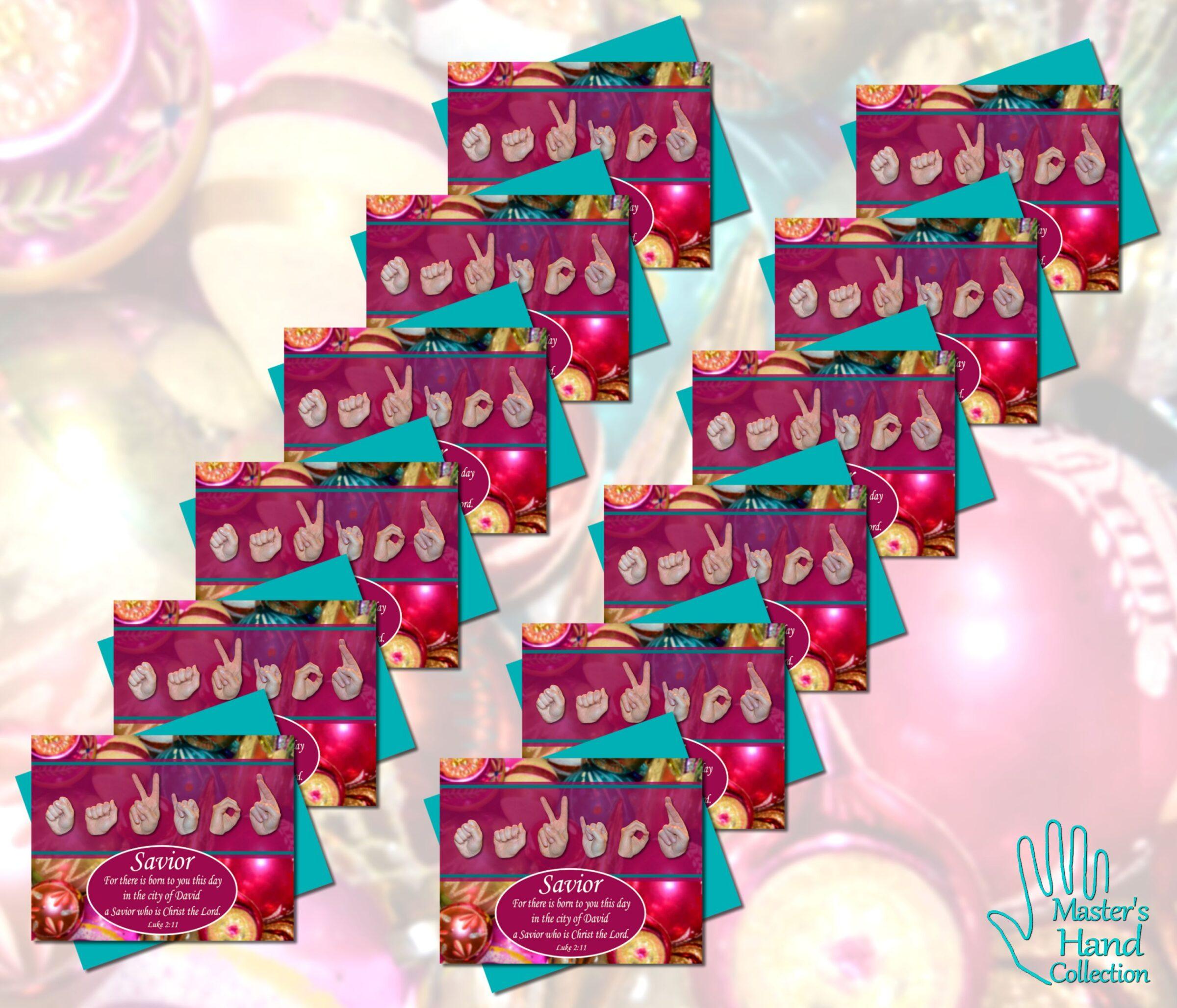 Savior Printable Cards (Set of 12)