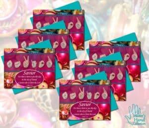 Savior Printable Cards (Set of 6)