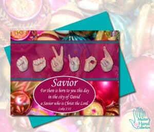 Savior Printable Card