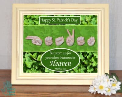 Heaven St Patrick's Day Printable Art