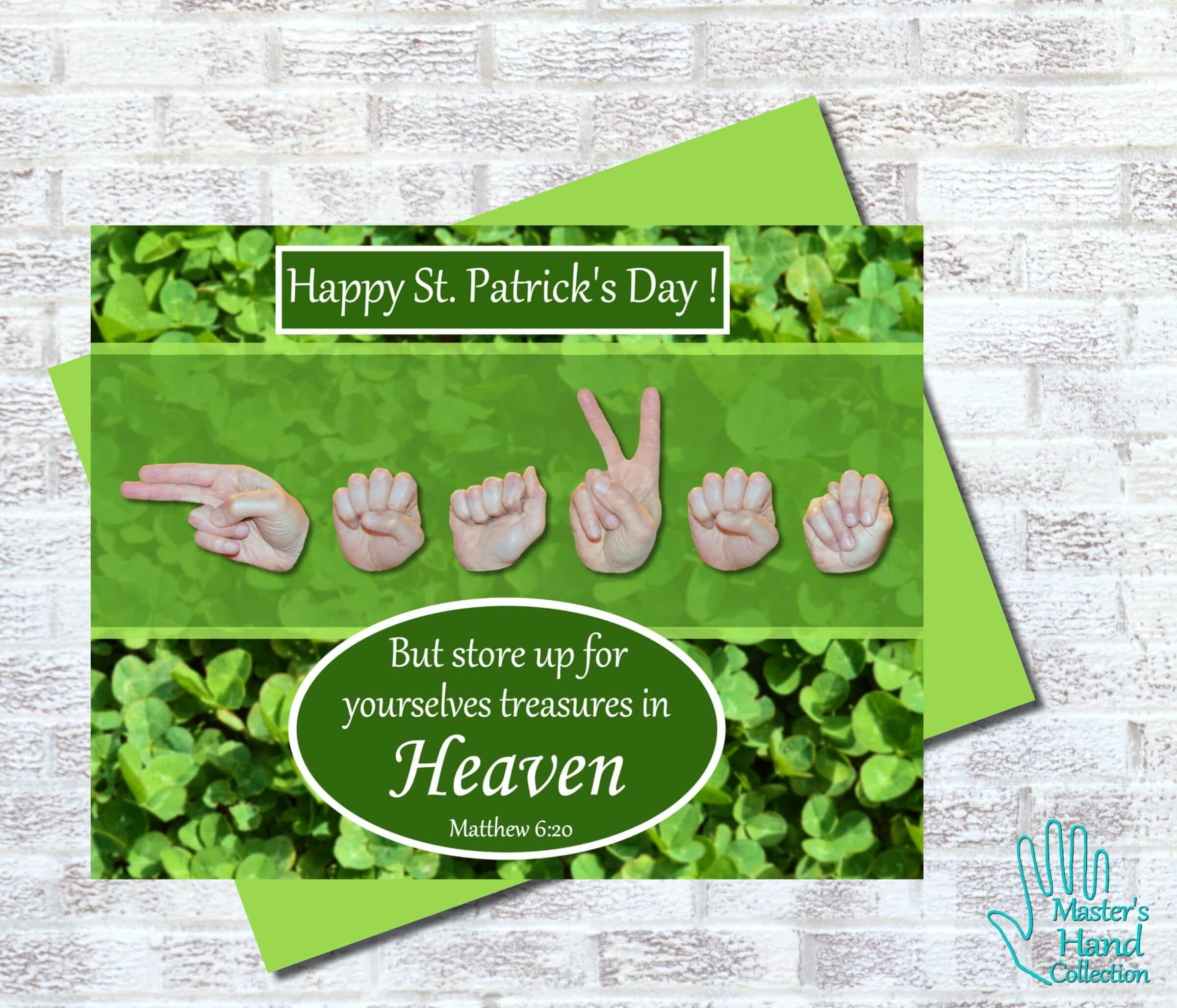 Heaven St. Patrick's Day Printable Card