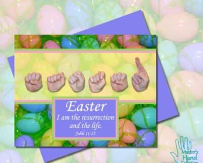 Easter Printable Card