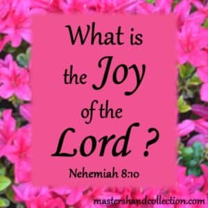 What is the Joy of the Lord Nehemiah 8:10 devotional