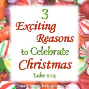 3 Exciting Reasons to Celebrate Christmas Luke 2:14